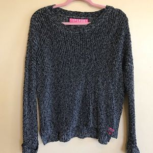 Gray SUPERDRY crew sweater